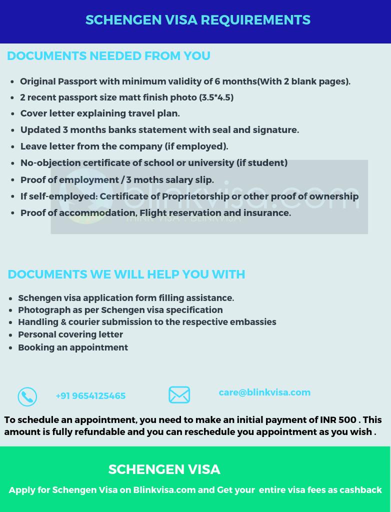 Netherlands Schengen Tourist Visa With 100 Cashback Blinkvisa